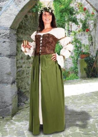 Country Maid Overdress // Photo courtesy of Museum Replicas