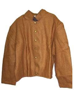 Civil War C.S.A. Butternut Shell Jacket
