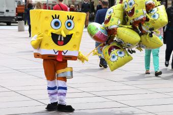 Homemade Sponge Bob Costumes