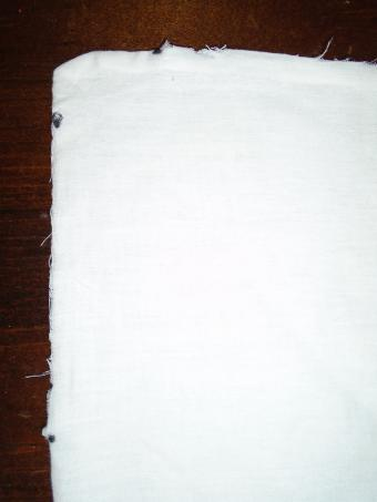 Pillow Case Toga Measurements and Cutting Clear