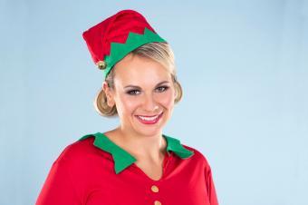 elf christmas costume