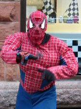 Spider Man costume