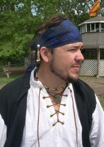Vintage Renaissance Pirate Costume