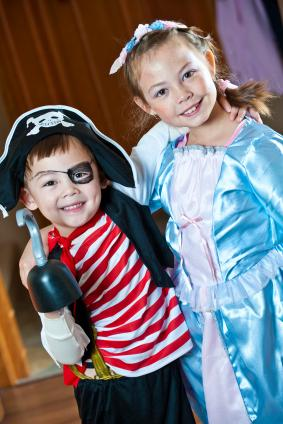 Pirate and Blue Fairy
