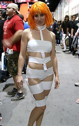 Leeloo costume