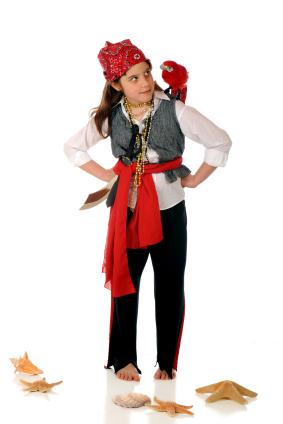 Homemade pirate costumes girl pirate solutioingenieria Choice Image