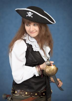 female pirate captain