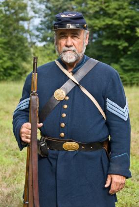 Navy uniform blue