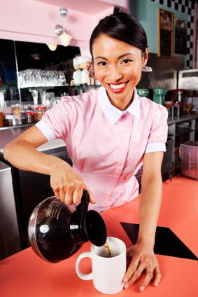 best service f25f5 502ff Vintage Waitress Uniforms | LoveToKnow