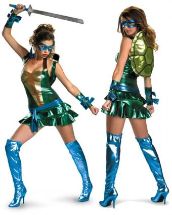 Teenage Mutant Ninja Turtles Sassy Leonardo costume from Costume Supercenter