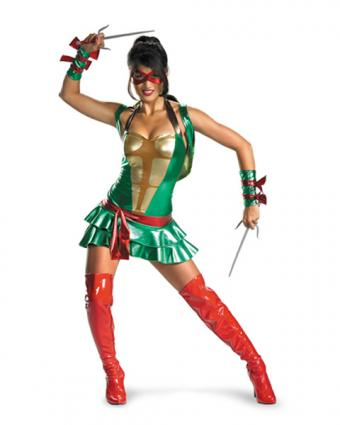 Adult Women's Raphael Costume from Costume Discounters