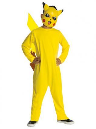 Boys Pikachu Pokemon Costume