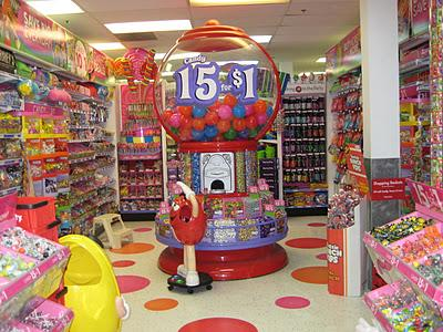Party City store interior