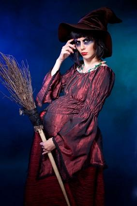 Pregnant witch