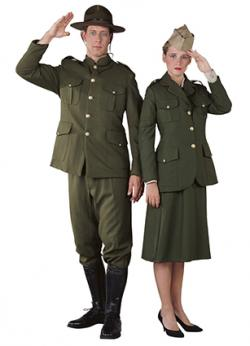 World War 1 Uniforms at The Costumer