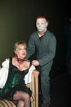Michael Myers and Donna Keegan