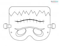 Printable Halloween Masks 2 Frankenstein