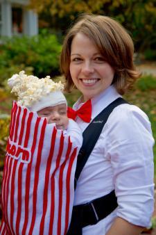 popcorn infant costume