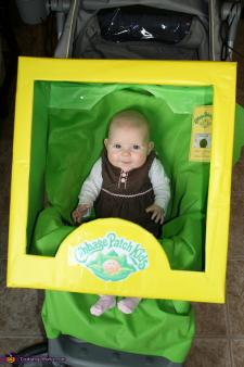 Cabbage patch doll box costume