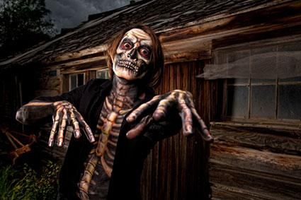Haunted House Skeleton Costume