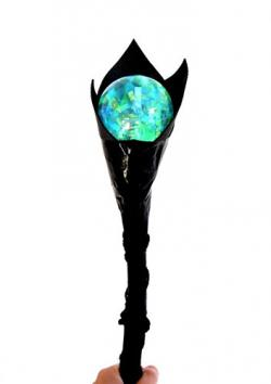 Homemade Maleficent Staff