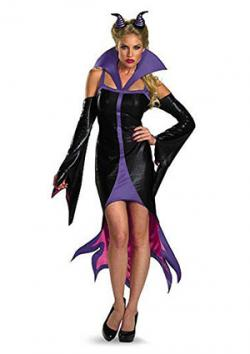 Disguise Women's Disney Sleeping Beauty Maleficent Sassy Costume