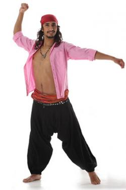 Gypsy man dancing in baggy pants  sc 1 st  Costumes - LoveToKnow & Gypsy Costume Ideas