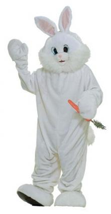 Adult Easter bunny costume