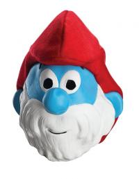 Adult papa smurf mask
