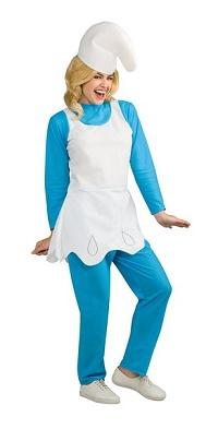 Women's smurfette costume