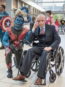 Nightcrawler and Professor Xavier