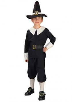 Pilgrim Boy Costume