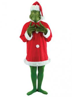 The grinch who stole christmas costumes grinch deluxe costume solutioingenieria Image collections