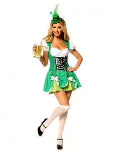 Irish Lass Costume  sc 1 st  Costumes - LoveToKnow & St. Patricku0027s Costume Ideas