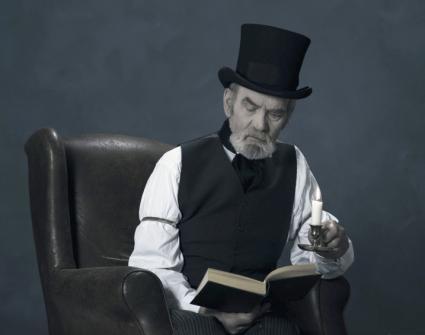 Scrooge costume