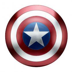 Captain America shield from Amazon.com