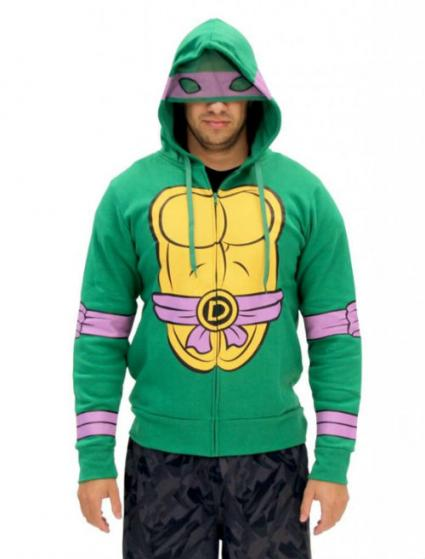 Men's Donatello Zip Hoodie from Amazon.com