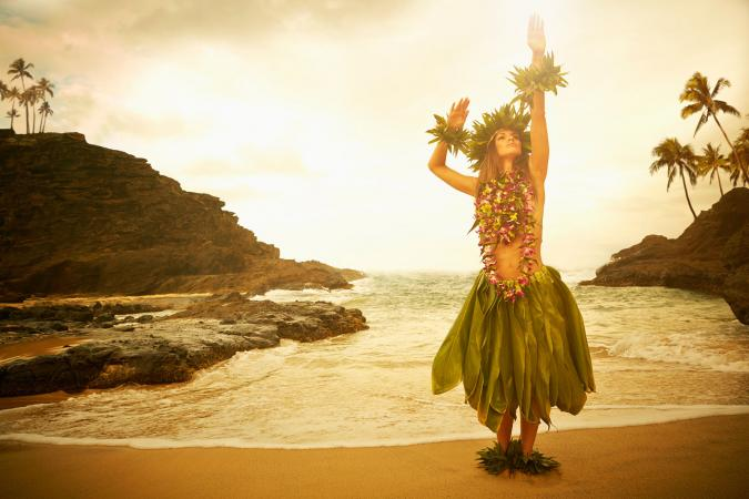 Hawaiian dancer