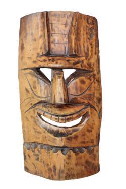 polynesian tiki masks