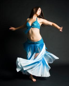 Belly dancer costume