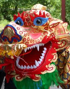 The Chinese dragon is a national costume with international appeal
