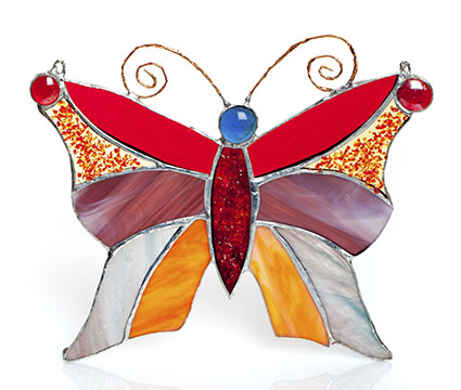 How To Make Stained Glass Suncatchers