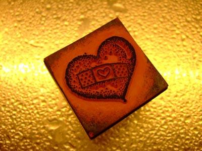 Sandra McCalls Rubber Stamped Jewelry