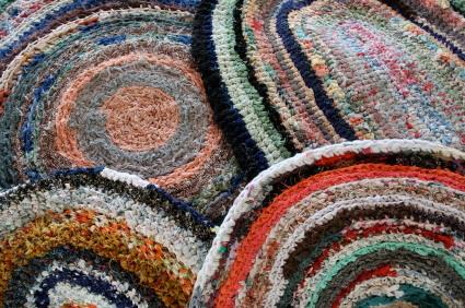 Crochet Rag Rug Lovetoknow
