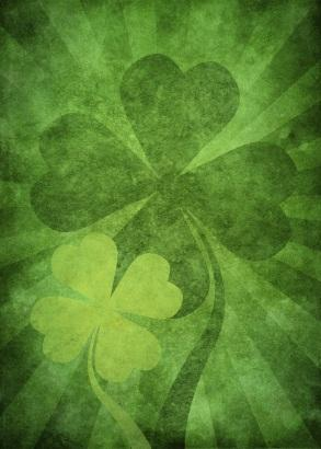 Irish Shamrock Stencils