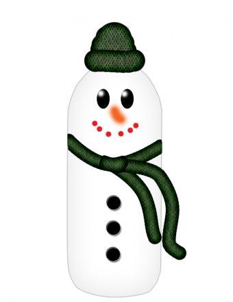 snowman doorstop