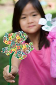 Photo Illustration of craft flower
