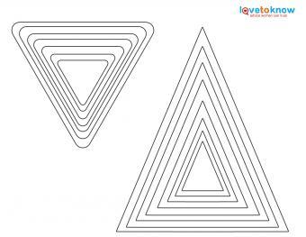 Triangle shapes