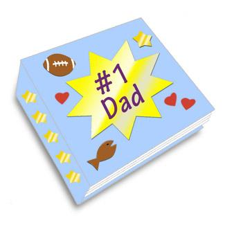 Father's Day Crafts Coupon Book
