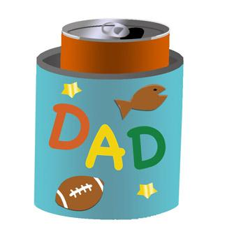 Father's Day Can Cooler
